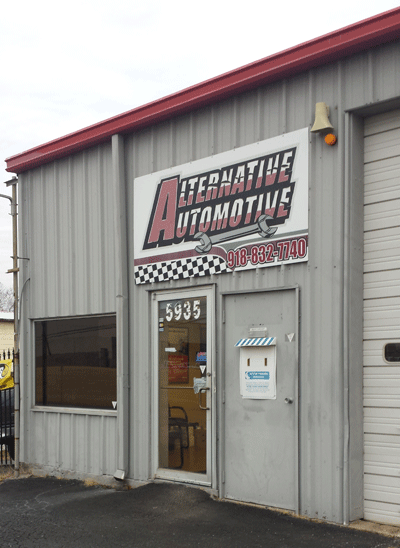 Alternative Automotive | 5935 E 15th St, Tulsa OK 74112 | 918-832-7740